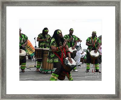 We Be Jammin' Framed Print by Kendall Eutemey