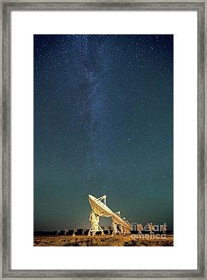 We Can Hear You Framed Print by Keith Kapple