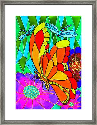 We Fly Framed Print by Farah Faizal