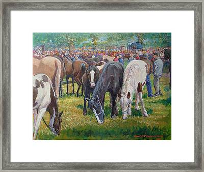 We Three Spancilhill Co Clare Framed Print by Tomas OMaoldomhnaigh
