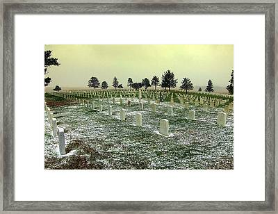 We Will Remember Them Framed Print
