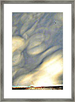 weather report II Framed Print by Diane montana Jansson