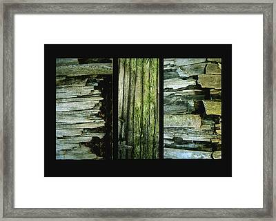 Weathered Framed Print by Ann Powell