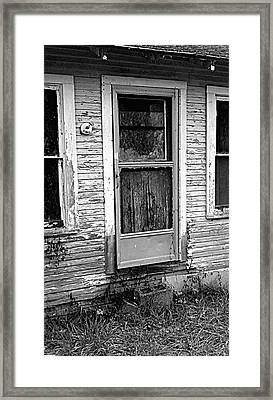 Weathered Framed Print by Kevin D Davis