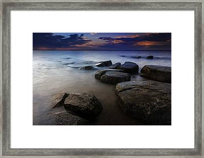 Weathered Framed Print by Rick Berk