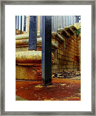 Weathering Heights  Framed Print by Tammy Cantrell