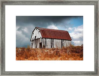 Framed Print featuring the photograph Weathering The Storm by Renee Hardison