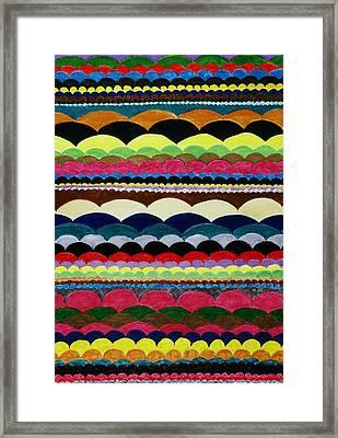 Weaving Framed Print