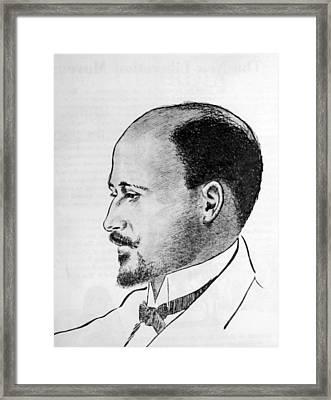 W.e.b. Dubois 1868-1963 Framed Print by Everett