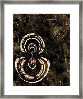 Web Mistress Framed Print by Paula Ayers