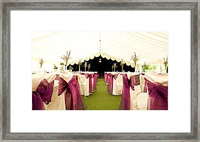 Wedding Venue Framed Print