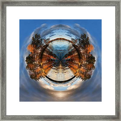 Wee Lake Vuoksa Twin Islands Framed Print by Nikki Marie Smith