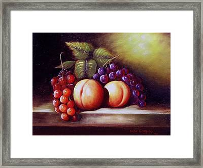 Wee Snack 2 Framed Print by Gene Gregory