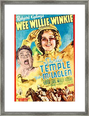 Wee Willie Winkie, From Left Victor Framed Print by Everett