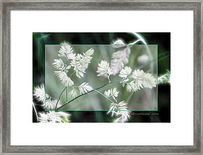 Framed Print featuring the photograph Weeds by EricaMaxine  Price