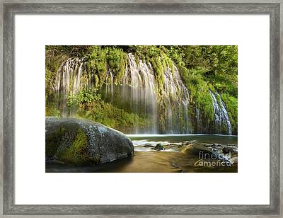 Weeping Wall Framed Print by Keith Kapple