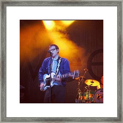 #weezer #canada #montreal Framed Print