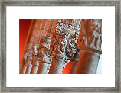 Weight Of The World Framed Print by Joshua Ball