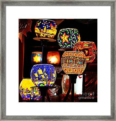 Framed Print featuring the photograph Weihnachtslichter I by Jack Torcello