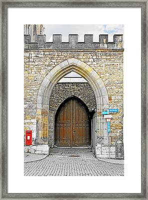 Weimar - Unesco World Heritage Site Framed Print by Christine Till