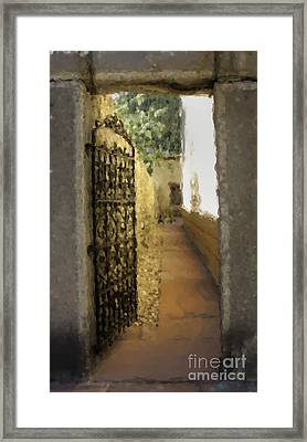 Welcome - Homage To Sven Framed Print by David Bearden