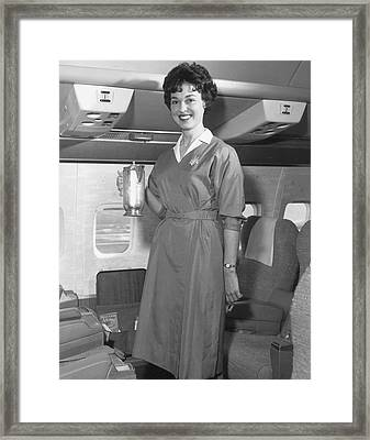 Welcome Aboard Framed Print by Archive Photos