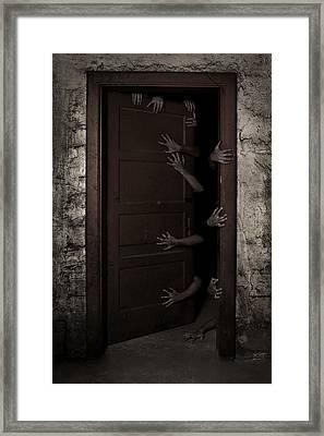 Welcome Framed Print by Aljaz Bezjak