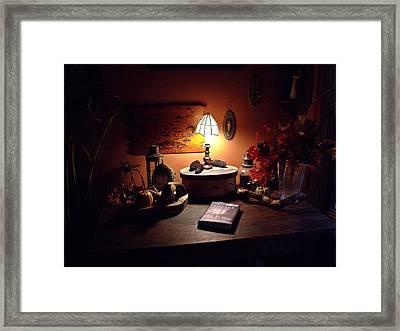 Welcome Framed Print by Dave Dresser