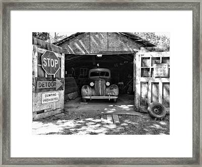 Welcome Home 36' Framed Print by Joseph Wilson