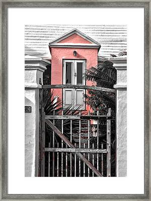 Welcome Framed Print by Michael Braxenthaler