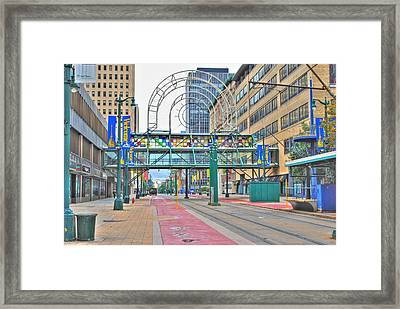Framed Print featuring the photograph Welcome No 2 by Michael Frank Jr