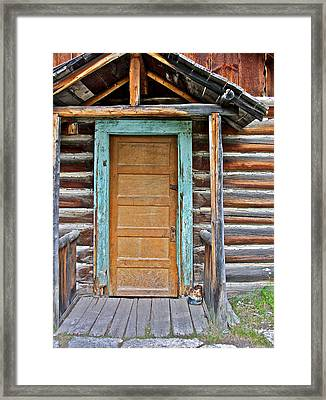 Welcome Sight For Weary Travelers Framed Print by Karon Melillo DeVega