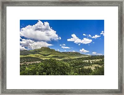 Welcome To Colorado Framed Print by Nicholas Evans