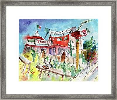 Welcome To Cyprus 02 Framed Print by Miki De Goodaboom