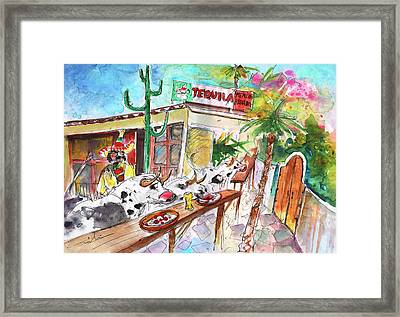 Welcome To Cyprus 03 Framed Print by Miki De Goodaboom