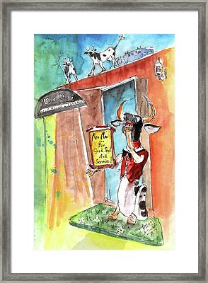 Welcome To Cyprus 04 Framed Print by Miki De Goodaboom