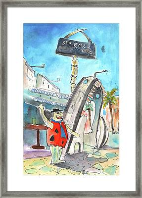 Welcome To Cyprus 06 Framed Print by Miki De Goodaboom