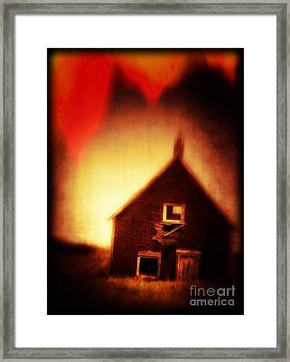 Welcome To Hell House Framed Print by Edward Fielding