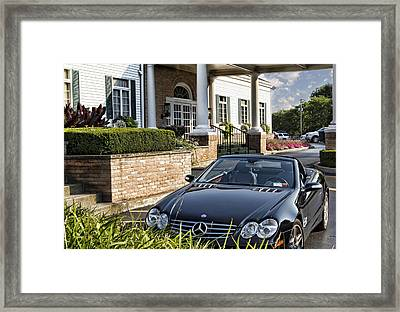 Welcome To The Club Framed Print by Peter Chilelli
