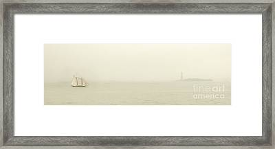 Welcome To The New World Framed Print by Hannes Cmarits