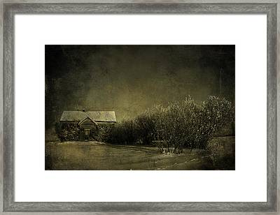 Well Come In Framed Print by Empty Wall