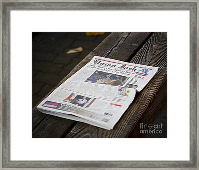 Well Done Andy Murray Framed Print by Chris Dutton