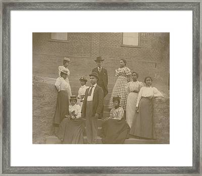 Well Dressed Young African American Men Framed Print by Everett