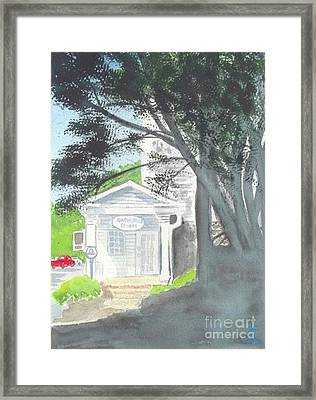 Framed Print featuring the painting Wellers Carriage House 1 by Yoshiko Mishina