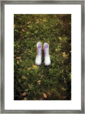 Wellingtons Framed Print by Joana Kruse