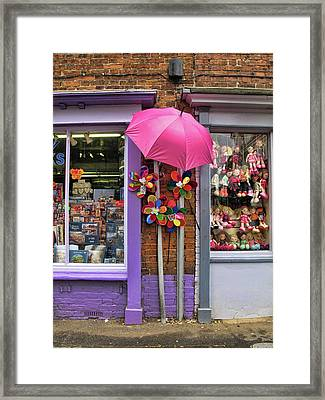 Wells-next-the-sea Gift Shops Framed Print