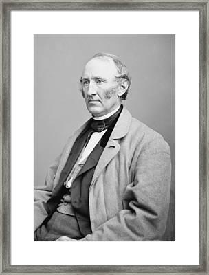 Wendell Phillips 1822-1884, American Framed Print