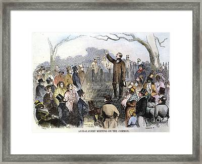 Wendell Phillips Framed Print by Granger