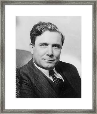 Wendell Willkie 1892-1944, Ran A Tepid Framed Print by Everett