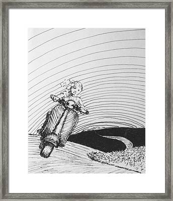 Wendy Framed Print by Louis Gleason